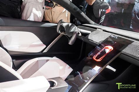 tesla roadster interior tesla roadster unveiling tsportline tesla model s