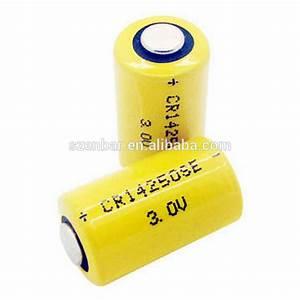 3Volts Lithium Manganese Dioxide battery