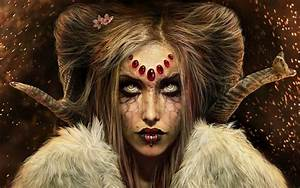 wallpapers: Evil Woman Wallpapers