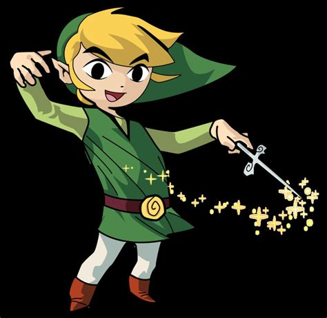 The Legend Of Zelda The Wind Waker Link By