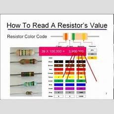 Resistor & Capacitor Id Youtube