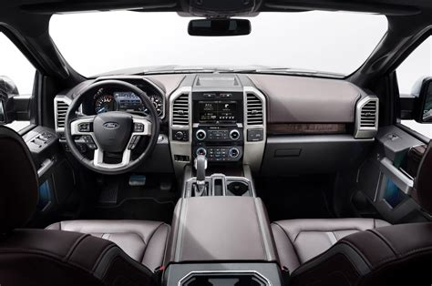 ford f 150 platinum interior 2015 ford f 150 look motor trend