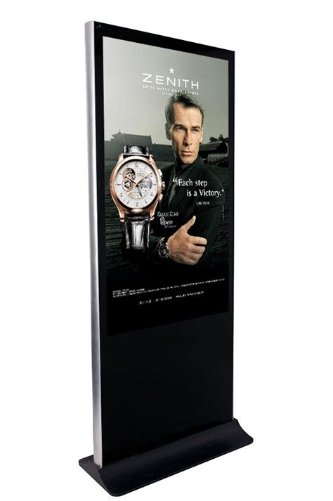 floor standing lcd ad player digital advertisement