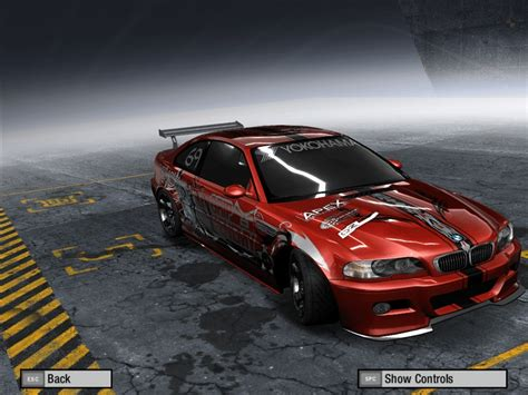 Bmw M3 E46 (2001) Need For Speed Pro Street Rides