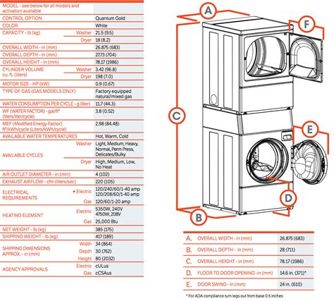 washer dryer sizes commercial stack washer dryer commercial laundries orlando
