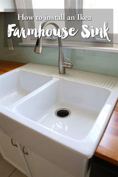 farmhouse kitchen sink ikea best 25 ikea farmhouse sink ideas on