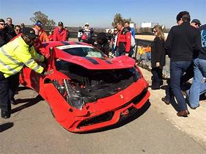 Ferrari 458 Speciale Crashes During Track Attack in South ...