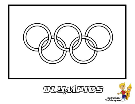 olympic color olympics mascot coloring pages free olympic flags