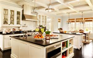 Ideas For Kitchen Island White Kitchen Island Designs Ideas With Black Countertop Homefurniture Org