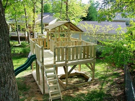 Backyard Play Structure by Best 25 Play Structures Ideas On Outdoor Play