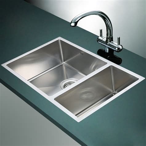 sink stainless steel kitchen stainless steel drop in kitchen sinks the homy design 5288