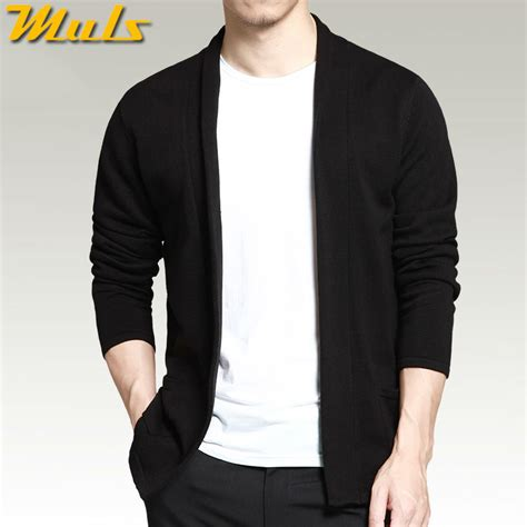 mens black sweater compare prices on mens shawl collar sweater