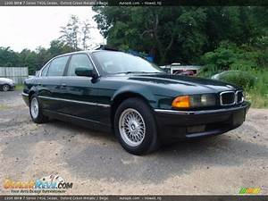 1996 Bmw 7 Series 740il Sedan Oxford Green Metallic    Beige Photo  3