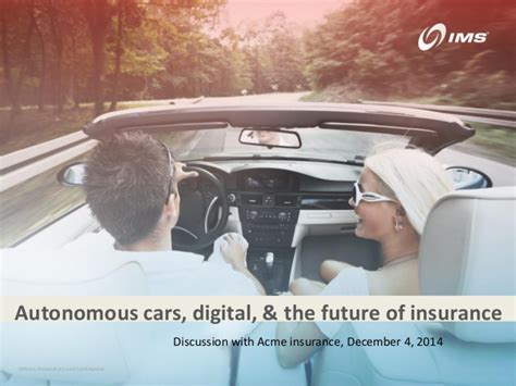 Acme Technology And The Future Of Auto Insurance