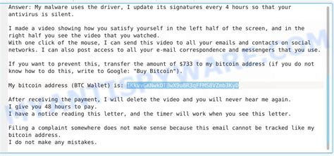 Email spam works by convincing the user that the attached files or links are genuine. 1KkvvGKNwkDTBwX9u8R3qFFMS8VZmb3KyD Bitcoin Email Scam