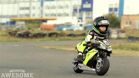 Baby Biker 4 Year Old Has Insane Motorcycle Skills