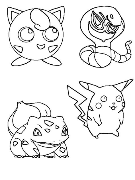 Jiggly Puff Kleurplaat by Jigglypuff And Other Characters Coloring Page