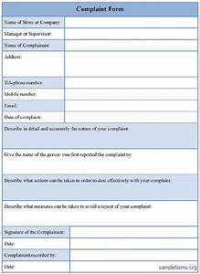 Free Printable Attendance Chart Free Customer Complaint Form Excel Template About