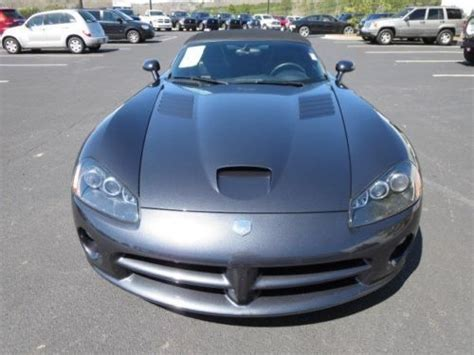 auto repair manual online 2002 dodge viper parking system sell used srt10 manual convertible 8 3l cd locking limited slip differential abs fog ls in