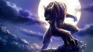 Werewolf Full Moon Fantasy Wallpaper For Desktop