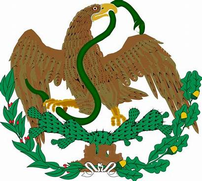 Svg Mexico Arms Coat 1823 1893 1867