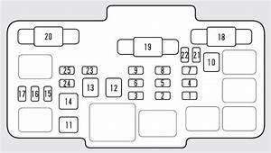 Honda Element  2009  U2013 2010   U2013 Fuse Box Diagram