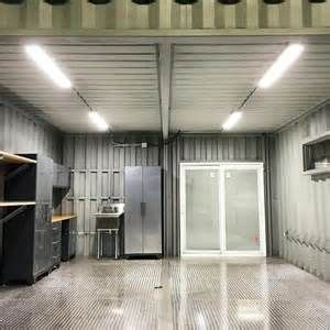 custom shipping container car garage   modified