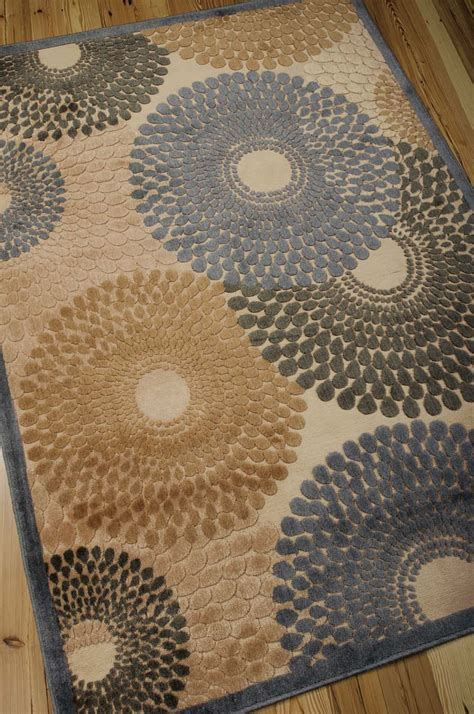 Graphic Rug - nourison graphic illusions gil04 teal rug