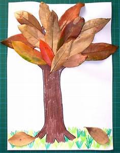 Aus Blättern Basteln : was f r ein toller baum aus echten bl ttern jetzt gleich ~ Lizthompson.info Haus und Dekorationen