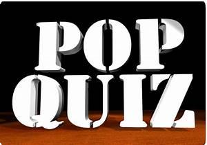 Pop Quiz » Games Warehouse