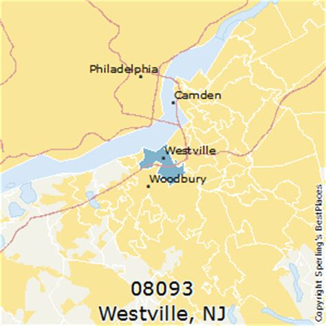 places    westville zip   jersey