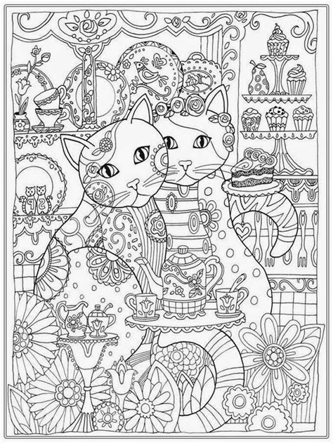 cat coloring pages  adult cat coloring book coloring pages cat coloring page