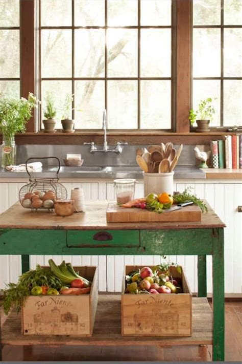 diy country kitchen ideas simple diy kitchen island ideas for everyone diy projects 6807