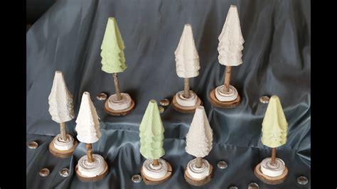 Tannenbaum / Christmas Tree Basteln Aus Eierschachteln Und
