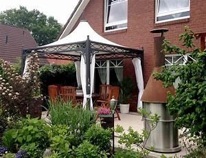 Stabiler Pavillon Wetterfest : metall pavillon roma 3x3 4x4 mein gartenpavillon ~ Eleganceandgraceweddings.com Haus und Dekorationen