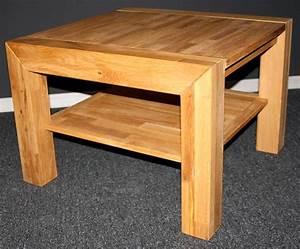 Wohnzimmertisch Eiche Massiv : massivholz couchtisch wohnzimmertisch sofatisch 65x65 holz massiv eiche ge lt ebay ~ Orissabook.com Haus und Dekorationen