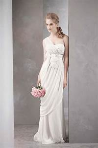 Aisle style grecian style wedding gowns paperblog for Grecian style wedding dresses