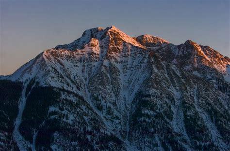 sunset   rocky mountains  durango coloradocom