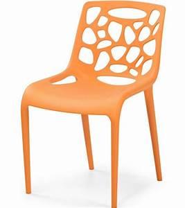 Chaise cuisine plastique design idees de decoration for Deco cuisine avec chaise plastique