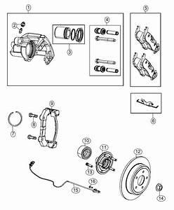 2015 Dodge Durango Rotor  Brake  Rear  Magneti Marelli