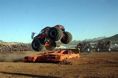 monster truck videos crashes shocking video extreme aeroshow crash in chihuahua