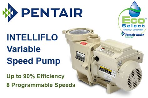 The Benefits Variable Speed Pool Pump Pentair