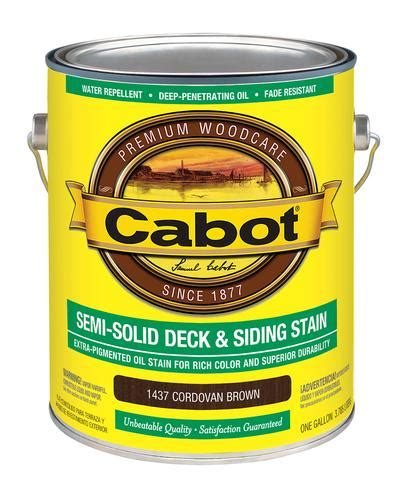 cabot cordovan brown semi solid deck siding stain 1