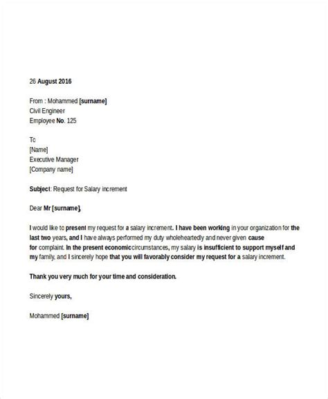 professional request letter templates