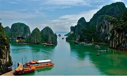 Vietnam Sea Tropics Wallhere Goodfon Wallpapers
