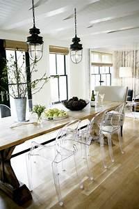 pourquoi choisir la chaise design transparente With meuble salle À manger avec chaise transparente salle a manger