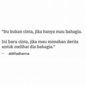 Love Quotes Bahasa Indonesia With Pin Oleh Zahra Hasan Di ...