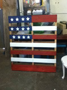 i m just now starting my next project the american flag a pallet we are using kilz primer