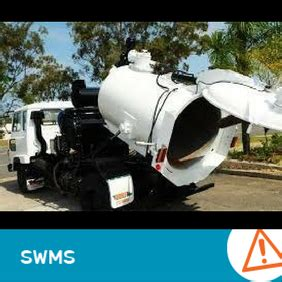 swms  vacuum truck procedures