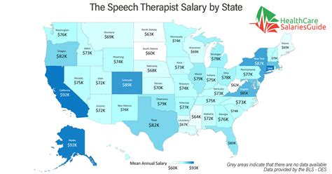 Therapist Salary By State by The Speech Therapist Salary In 2018 Healthcare Salaries